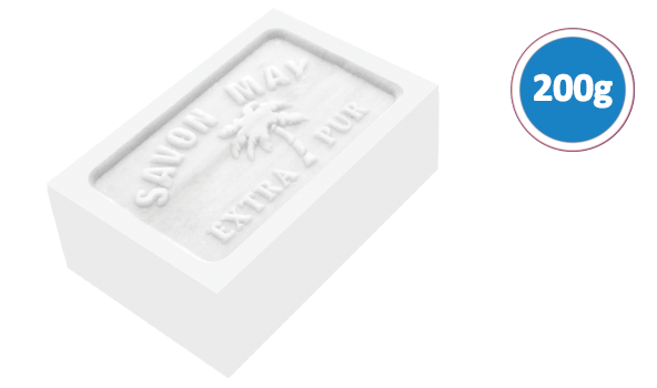Savon may blanc 200 grammes