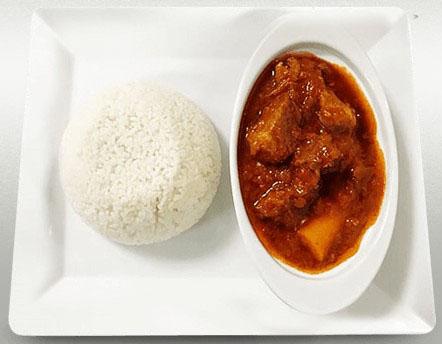 sauce tomate riz blanc
