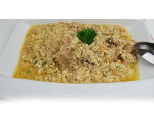 sauce pistache gombo